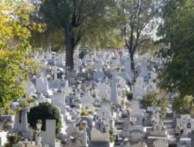 Denuncian robos de lápidas y crucifijos