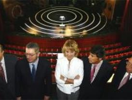 Aguirre y Gallardón alzan el telón de los Teatros del Canal