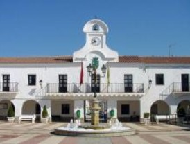 IU denuncia el estado de las obras del casco antiguo de Villanueva del Pardillo