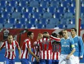 El Atlético pasa a octavos a puerta cerrada frente al PSV
