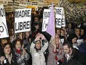 Cientos de personas reclamaron en Sol la despenalización del aborto