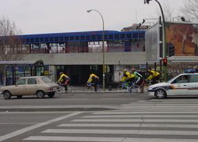 Las Rozas celebra la primera prueba ciclista Madrid-Lisboa