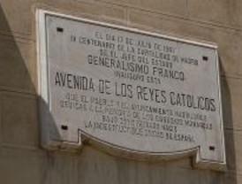 No quieren a Franco como Hijo Adoptivo de Madrid