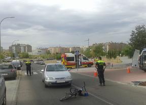 Muy grave un ciclista tras ser atropellado en Sanchinarro