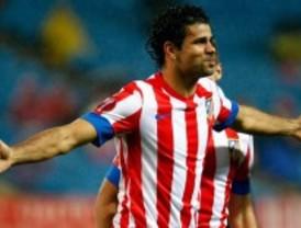El Atlético continúa la racha goleadora