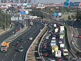 Mañana de tráfico intenso