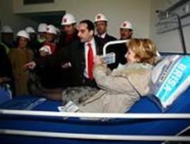 Las obras del hospital estarán terminadas en las primeras semanas de mayo