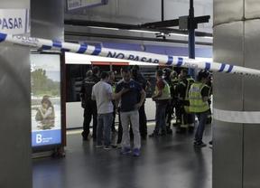 Muere un hombre arrollado por un tren de Metro en Príncipe Pío