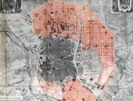El Ayuntamiento cuelga en la red la documentación del primer ensanche de Madrid