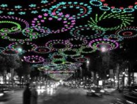 Madrid presenta sus luces de Navidad en Londres