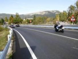 Más de 100 tramos están protegidos para los motoristas