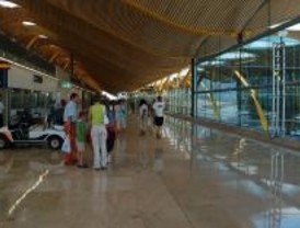 Barajas, el aeropuerto con más pasajeros en julio