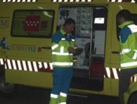 Un fallecido y tres heridos en una colisión frontolateral entre dos vehículos