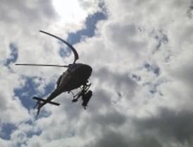 Rescatan a una mujer en La Pedriza con helicóptero