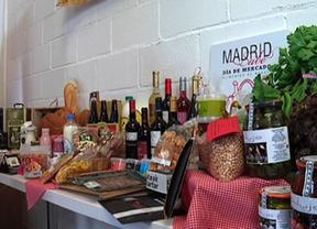 Uno de los puestos de la feria itinerante 'Madrid Sabe'