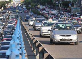 El tráfico vuelve a reducirse en la carreteras regionales
