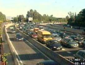 Tráfico intenso en las carreteras