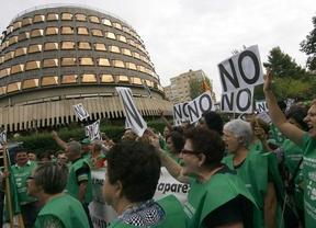 Una marcha hacia la Moncloa contra la reforma local