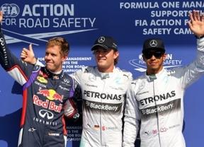 Rosberg, 'pole' en Spa, le gana el duelo a Hamilton