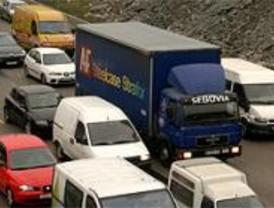 Muchos camiones circulan ilegalmente por los túneles de la M-30