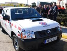 El PRISMA lleva un vehículo de Protección Civil a Fresno de Torote