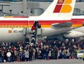 Restablecidos los vuelos en la T-4 a partir de las 13.00 horas