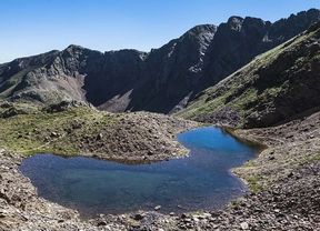 El parque natural comunal de los valles de Compedrosa, la cima de Andorra