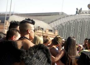 El desfile del Orgullo gay 2013 ha arrancado en la glorieta de Atocha.
