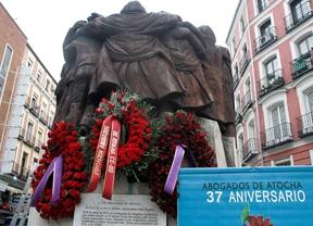 CCOO y el PCE rinden homenaje a los Abogados de Atocha