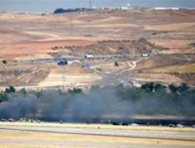 Imputados dos mecánicos del avión que se estrelló en Barajas