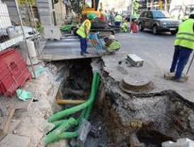 Las obras en la A-2 obligan a desviar el tráfico de la incorporación de la calle de Alcalá