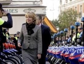 Las Bescam estrenan motos en 15 municipios