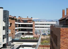 Zona residencial de Las Rozas