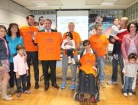 Una carrera por la discapacidad en Getafe
