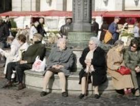 Las pensiones suben casi un 7% a pesar de la crisis