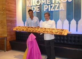 'Matador', la pizza más castiza de la Feria de San Isidro