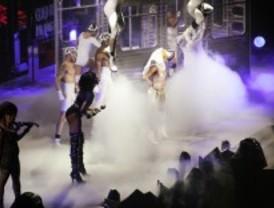 Oh la lá: Lady Gaga revoluciona el Palacio de los Deportes
