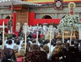 La procesión de la Almudena cambia el recorrido