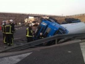 Muere un hombre en un accidente en Valdelaguna