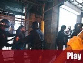 Cinco detenidos en la protesta de 'Yo no pago'