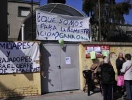 La Comunidad da cinco días para acabar con la protesta del centro ocupacional Magerit