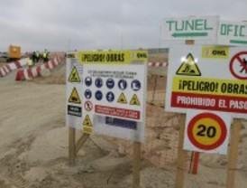 Las obras de construcción del tren a Navalcarnero llevan dos meses paralizadas