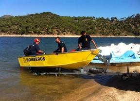 Hallado el hombre de 45 años ahogado en el pantano de San Juan