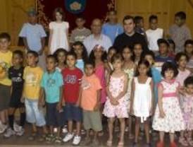Leganés recibe a 37 niños saharauis que este año veranean en el municipio