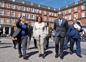 La primera fase de las obras de Plaza Mayor, para finales de 2015