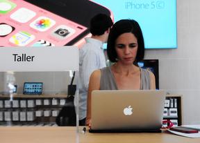 Todo listo para la apertura de la Apple Store de Sol