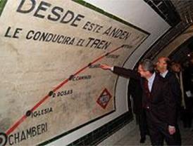Madrid abre una ventana a los orígenes del Metro