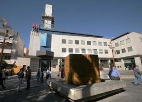 Ayuntamiento de Getafe en la plaza de la Constitución