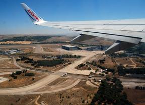El aeropuerto de Madrid incrementa en 5,5% sus vuelos nacionales