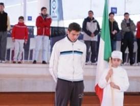 Ganador italiano en el Ciudad de la Raqueta